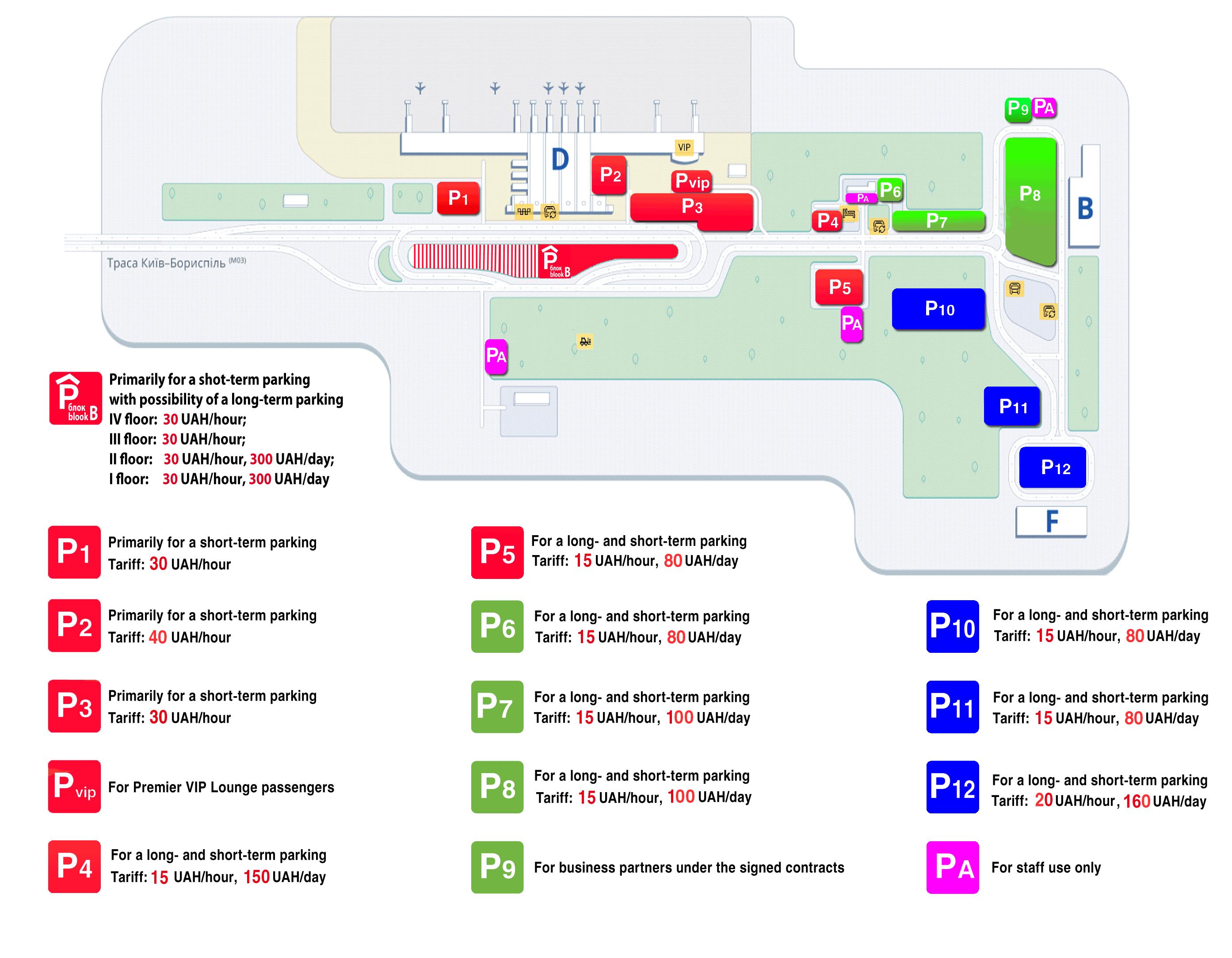 Parking — Аэропорт Борисполь